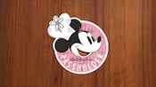 A decal featuring Chef Minnie and the words Walt Disney World Passholder