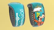 Una MagicBand con Goofy y la inscripción 2019 Pass holder, Walt Disney World