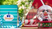 A collection of Passholder-exclusive novelty popcorn buckets and sippers, including a Retro Premium Popcorn Bucket and Mickey Snow Globe Premium Sipper.