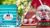 Una colección de originales cubetas de palomitas y vasos exclusivos para Portadores de Pase, incluidos una Cubeta de Palomitas Retro Premium y un Vaso Premium de Mickey en Bola de Cristal.
