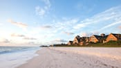 Disney's Vero Beach Resort overlooks a broad beach and expansive ocean