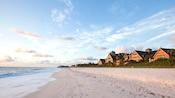 Disney's Vero Beach Resort overlooks a broad beach and expansive ocean