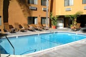 A view of the pool at the Best Western Plus Park Place Inn & Mini Suites