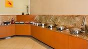 Barra de desayuno de Residence Inn Anaheim Resort