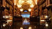 The main lobby of Disney's Animal Kingdom Lodge