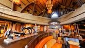 Un área del vestíbulo de Disney's Animal Kingdom Villas - Kidani