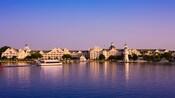 Uma vista do Disney's Yacht Club Resort