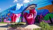 Réplica gigante de Eagle Ray, Mr. Ray, de la película de Disney•Pixar Finding Nemo