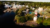 Vista panorâmica do Disney's Old Key West Resort