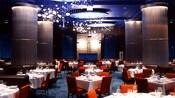 Le coin repas du restaurant Todd English's bluezoo à l'hôtel Walt Disney World Dolphin Resort