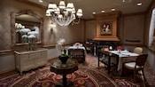 Salón de la Reina Victoria para cenar en Victoria & Albert's