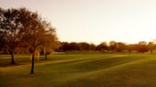 Puesta del sol en Disney's Oak Trail Golf Course