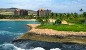 A view of the surf at Disneys Aulani Resort in Hawaii