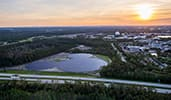 A Mickey shaped solar facility