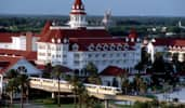 Disney's Grand Floridian Resort and Spa features Victorian style architecture