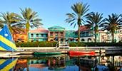 A swimming pool at Disney's Caribbean Beach Resort