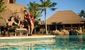 An image of a Resort swimming pool as an example of stock Disney themed marketing assets