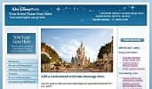 An example of a Disney themed microsite that features Walt Disney World Resort content