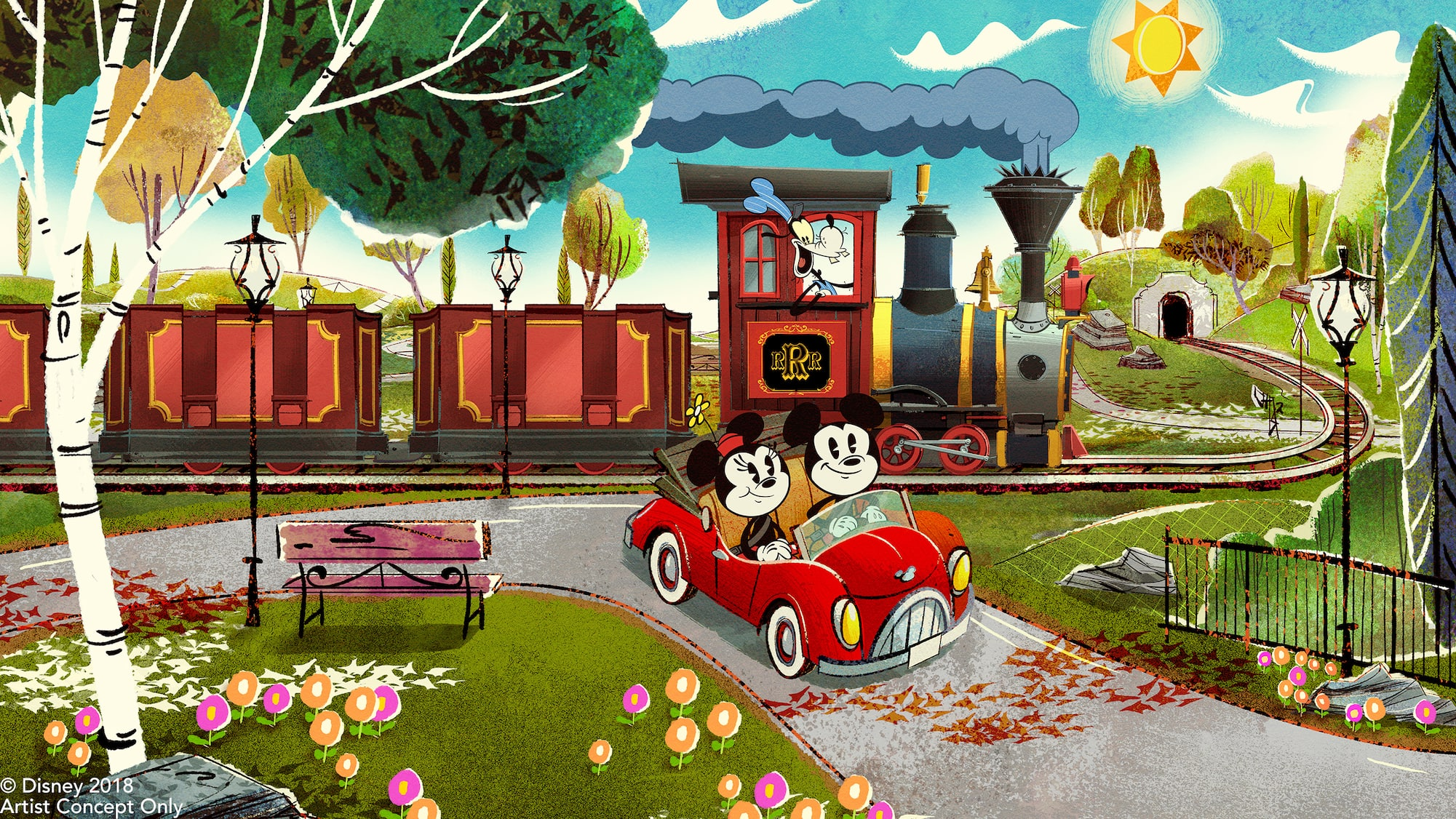 Image result for mickey and minnie's runaway railway