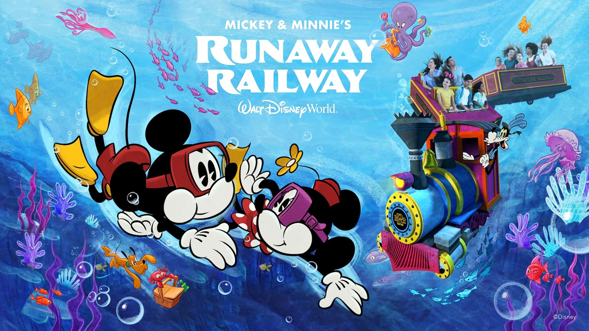 Mickey Minnie S Runaway Railway Now Open Walt Disney World