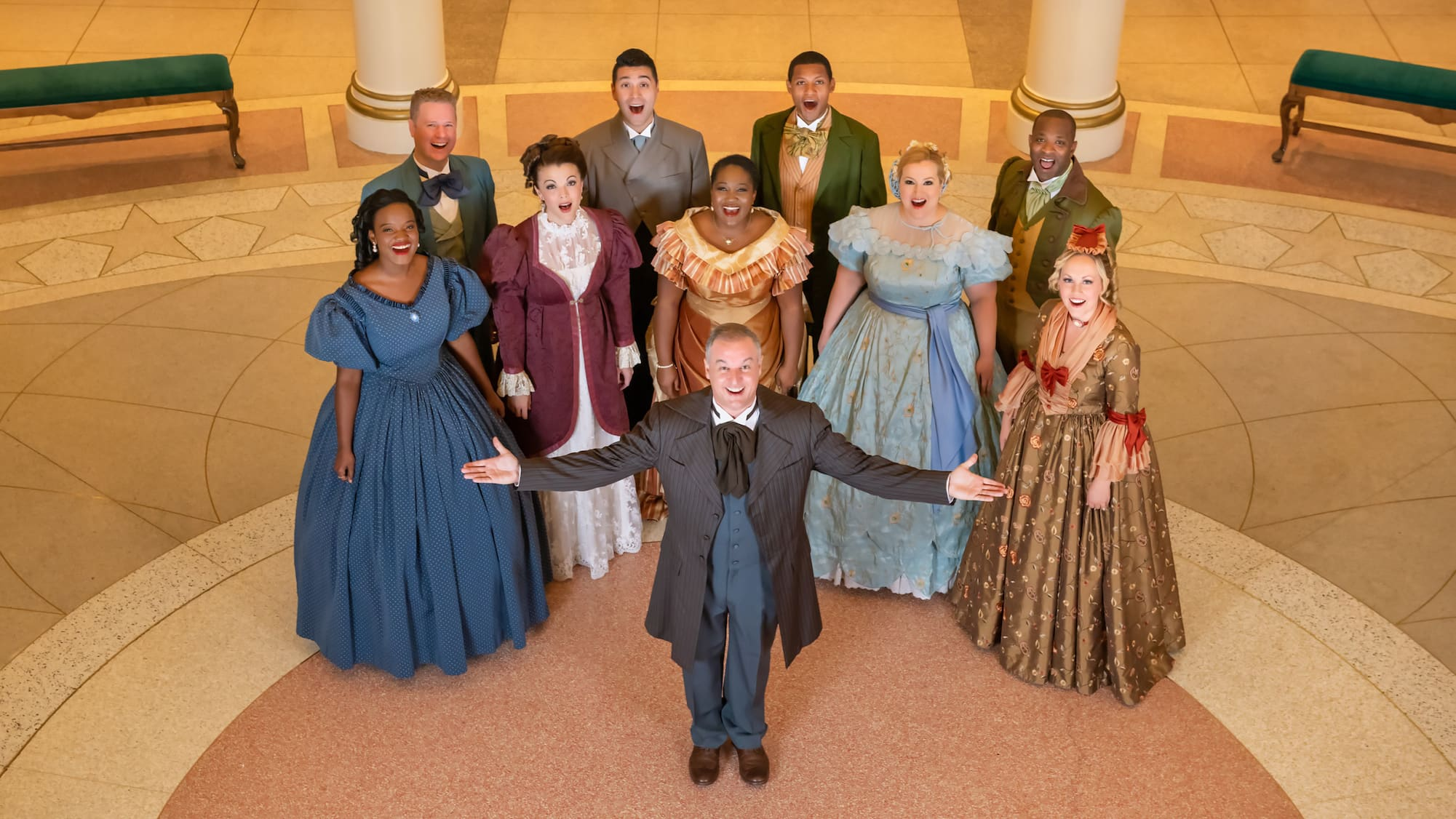 Image result for disneyworld voices of liberty