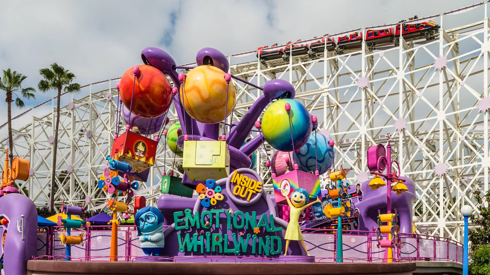 Inside Out Emotional Whirlwind Disneyland Resort