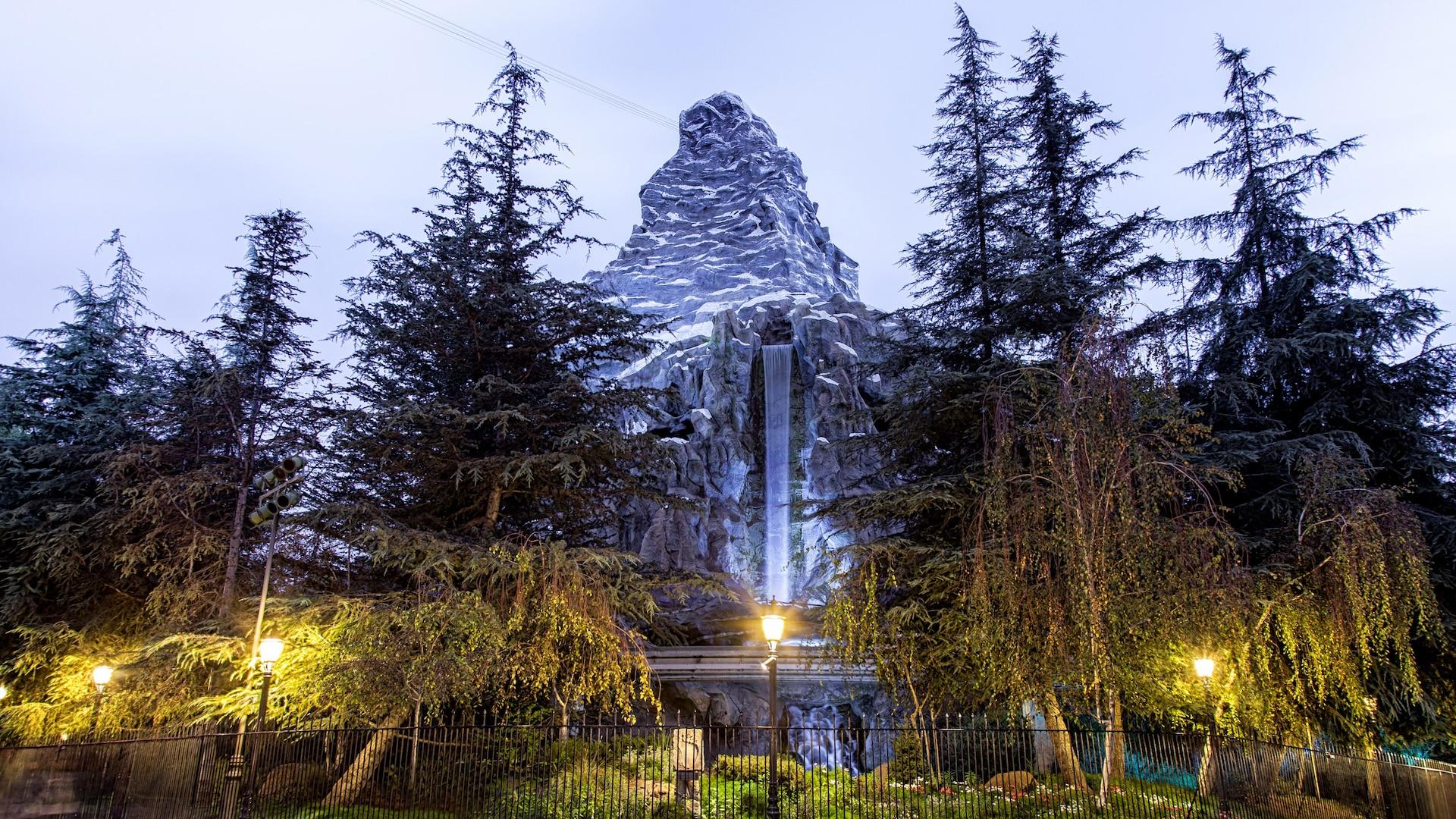 Matterhorn Bobsleds Rides Attractions Disneyland Park