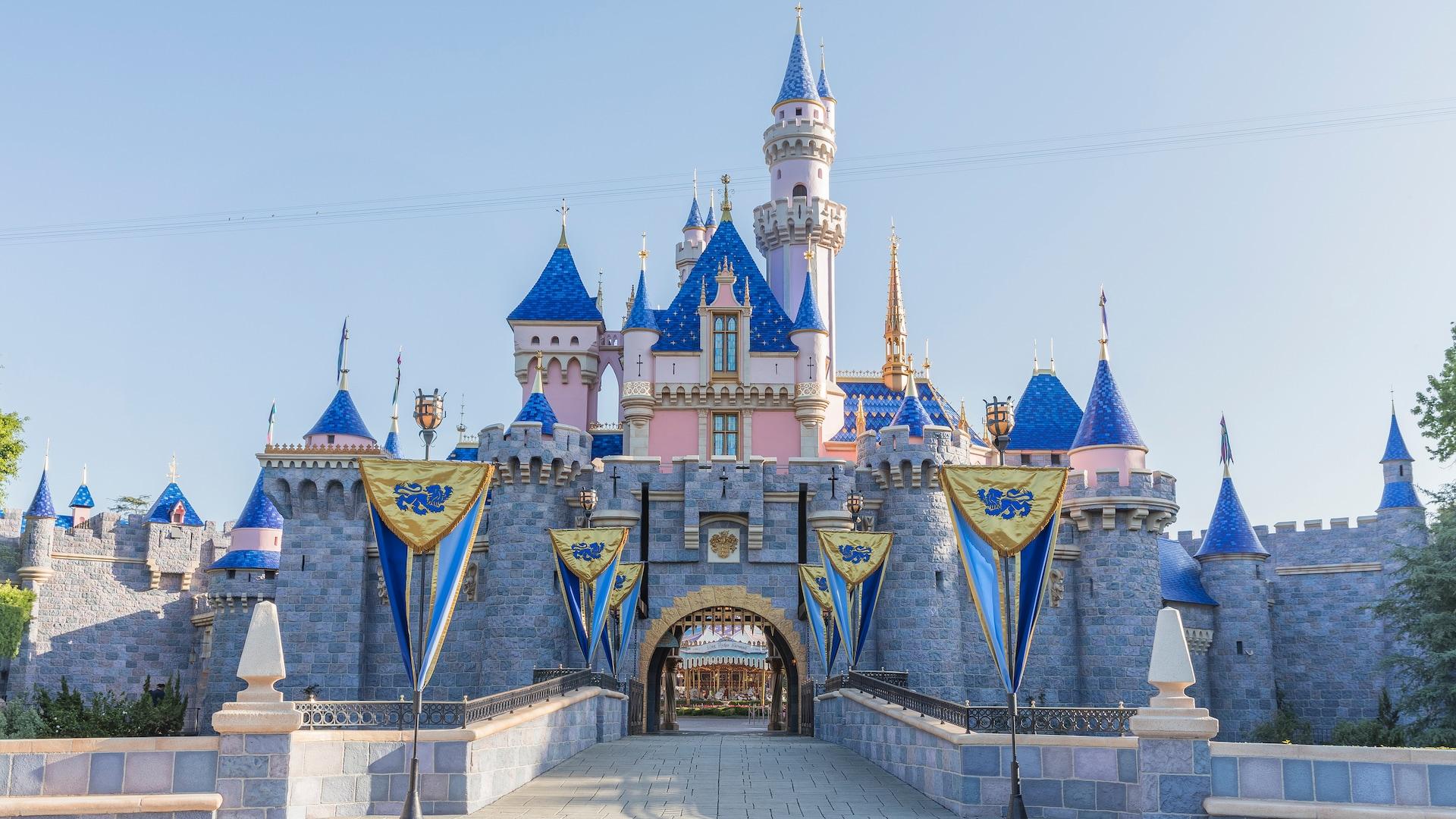 캘리포니아 디즈니랜드 잠자는 숲속의 공주