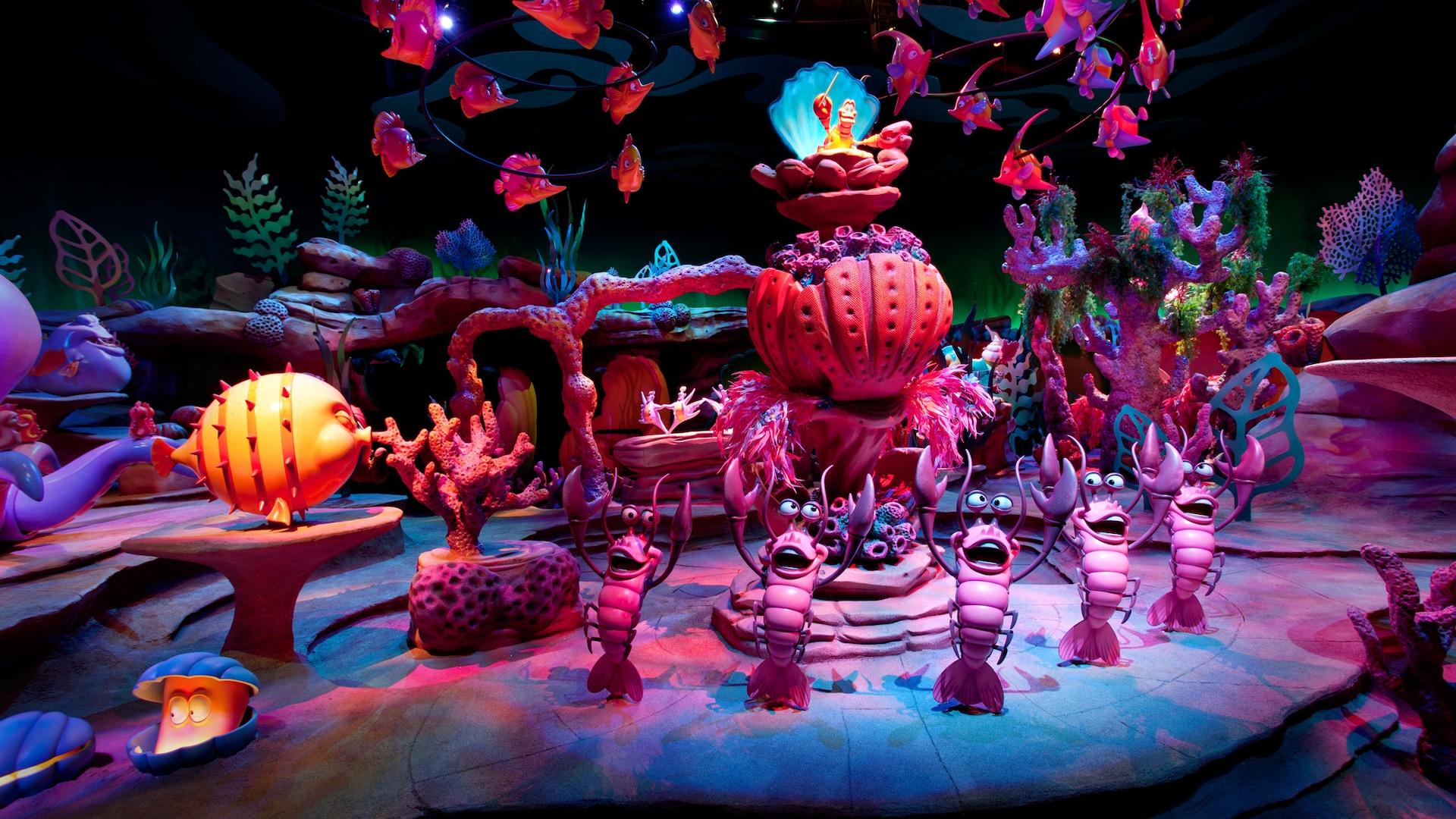 The Little Mermaid - Ariel's Undersea Adventure | California Adventure Park | Disneyland Resort
