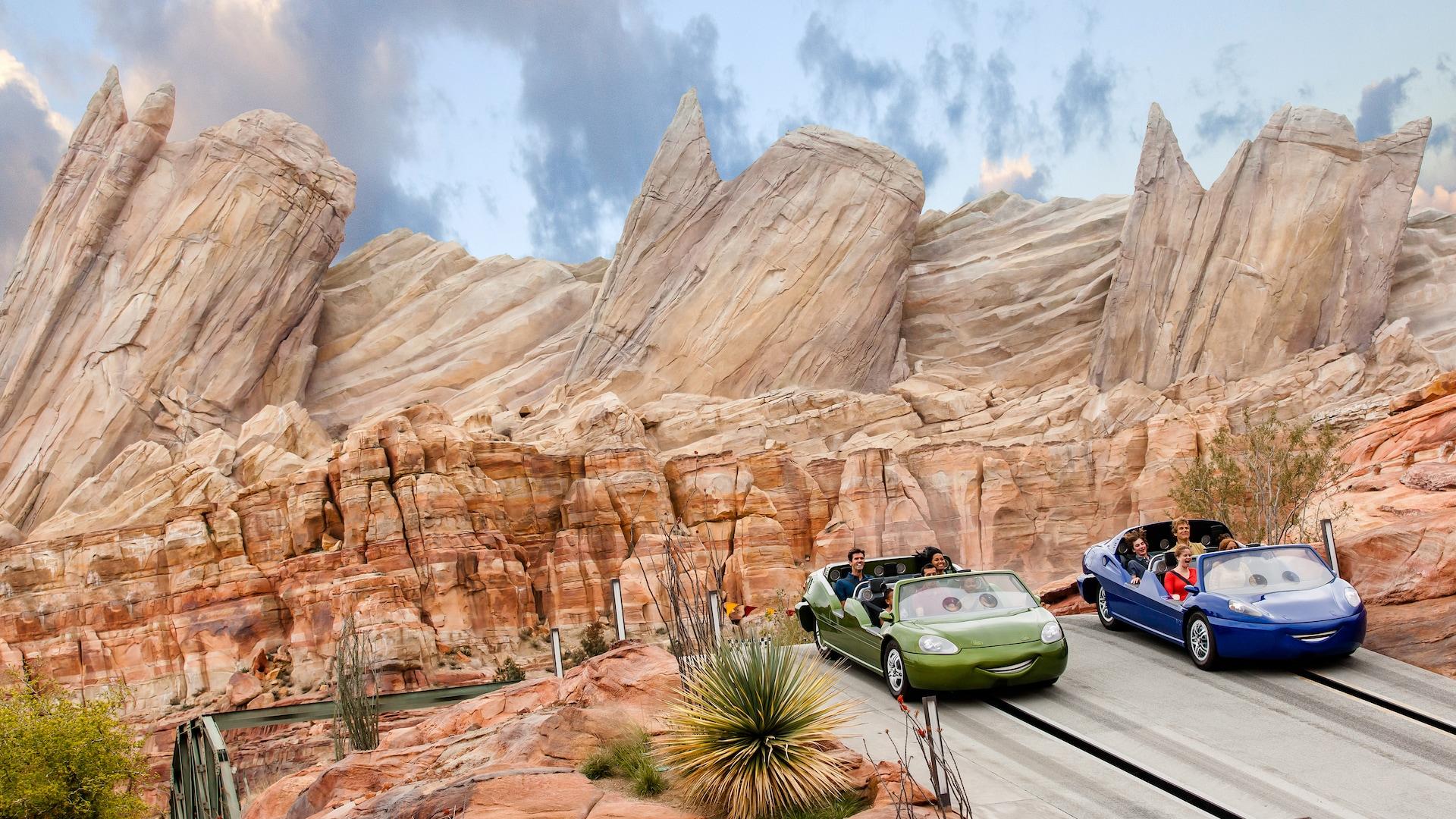 Radiator Springs Racers   Rides & Attractions   Disney