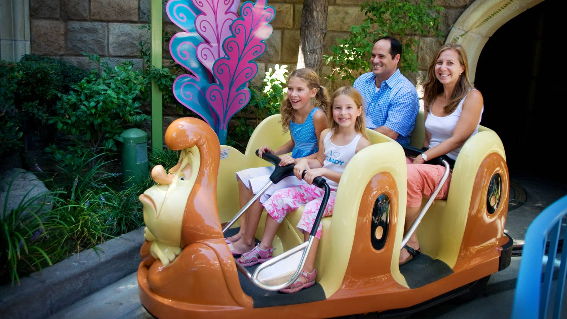 Alice In Wonderland Rides Attractions Disneyland Park