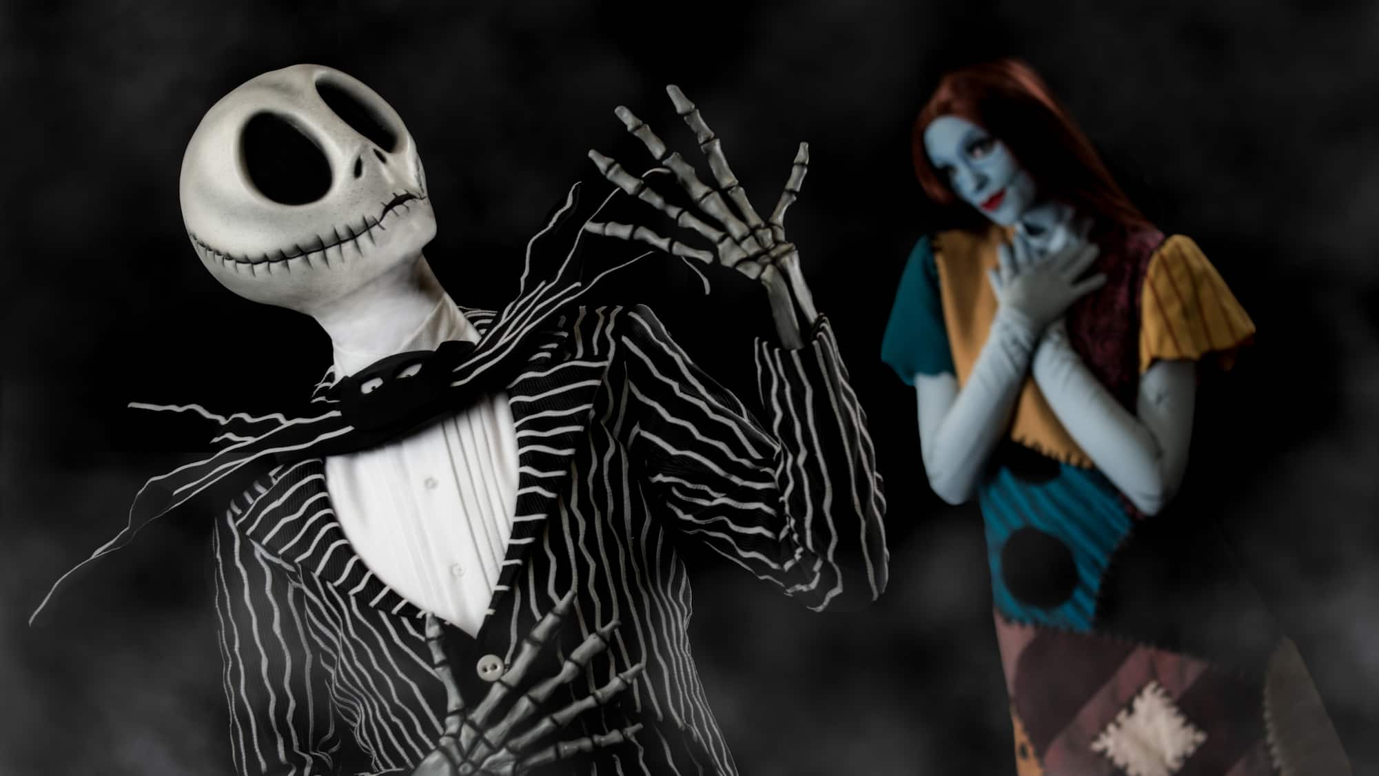 Meet Jack Skellington Sally And Mickey With Friends Halloween