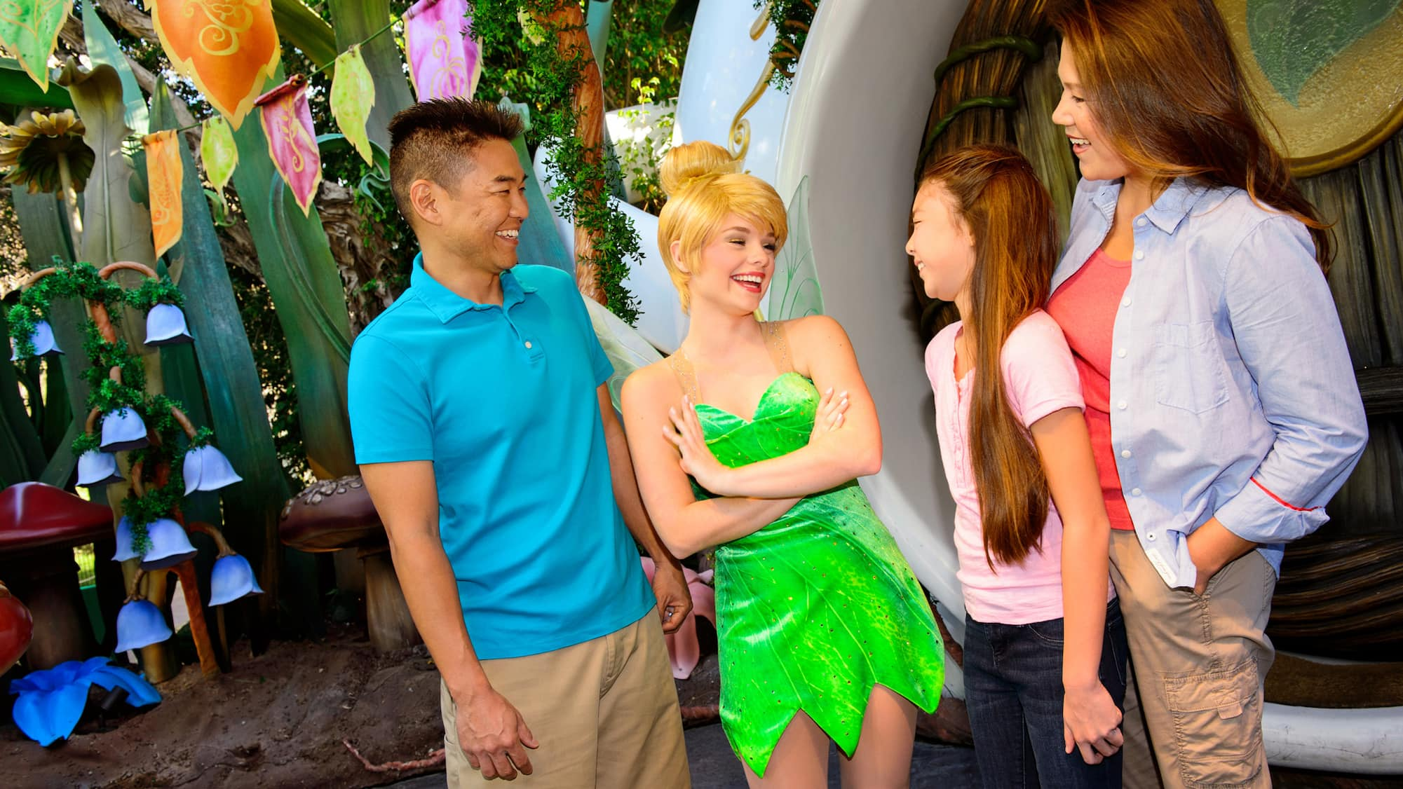 Tinker Bell at Pixie Hollow