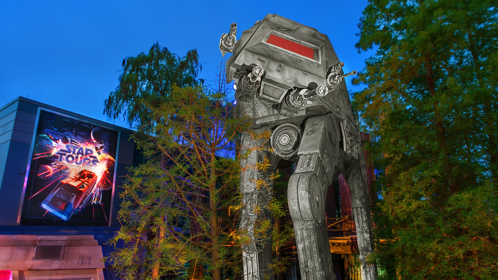 Image result for AT-AT by Star Tours