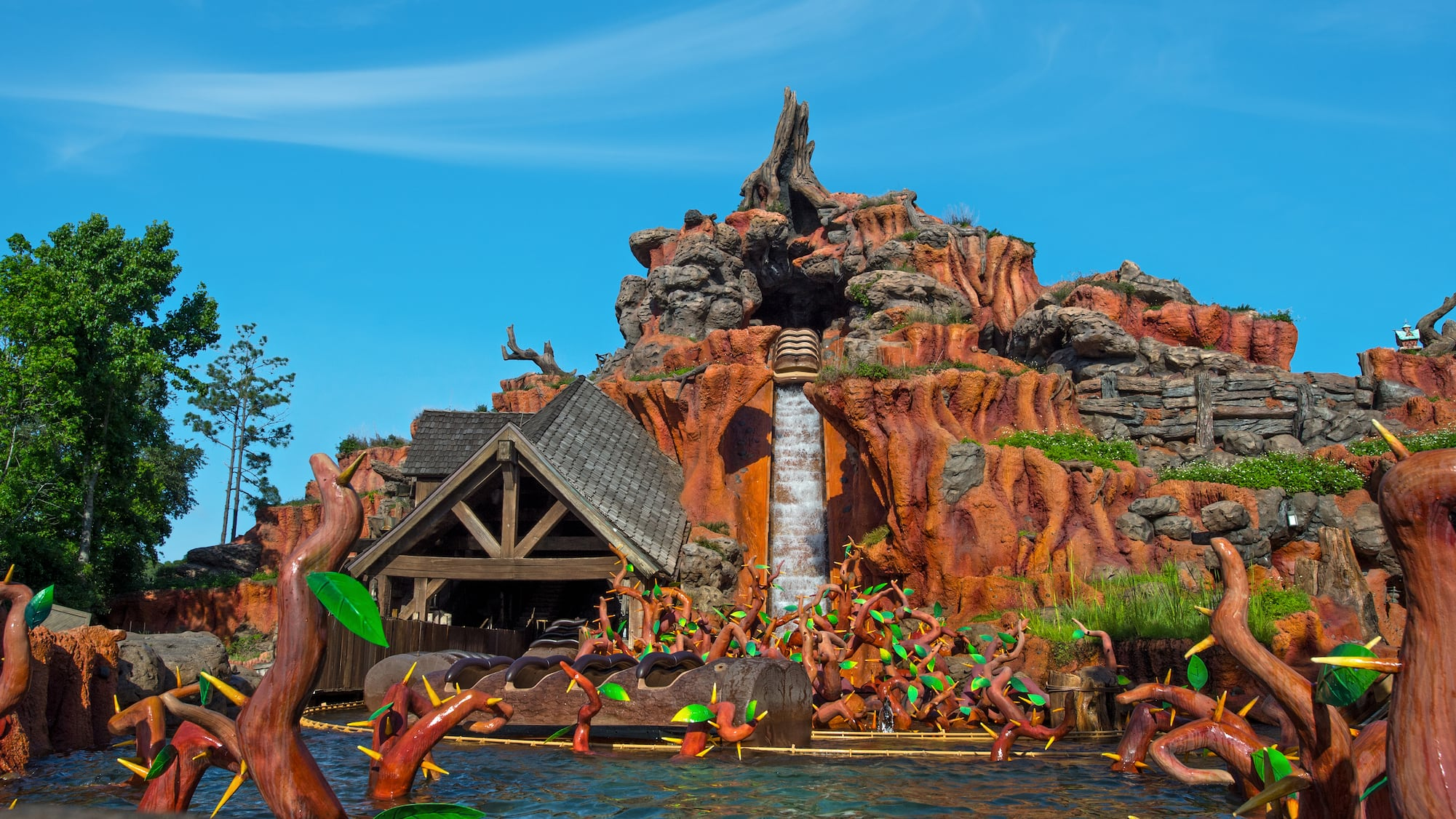 Image result for splash mountain