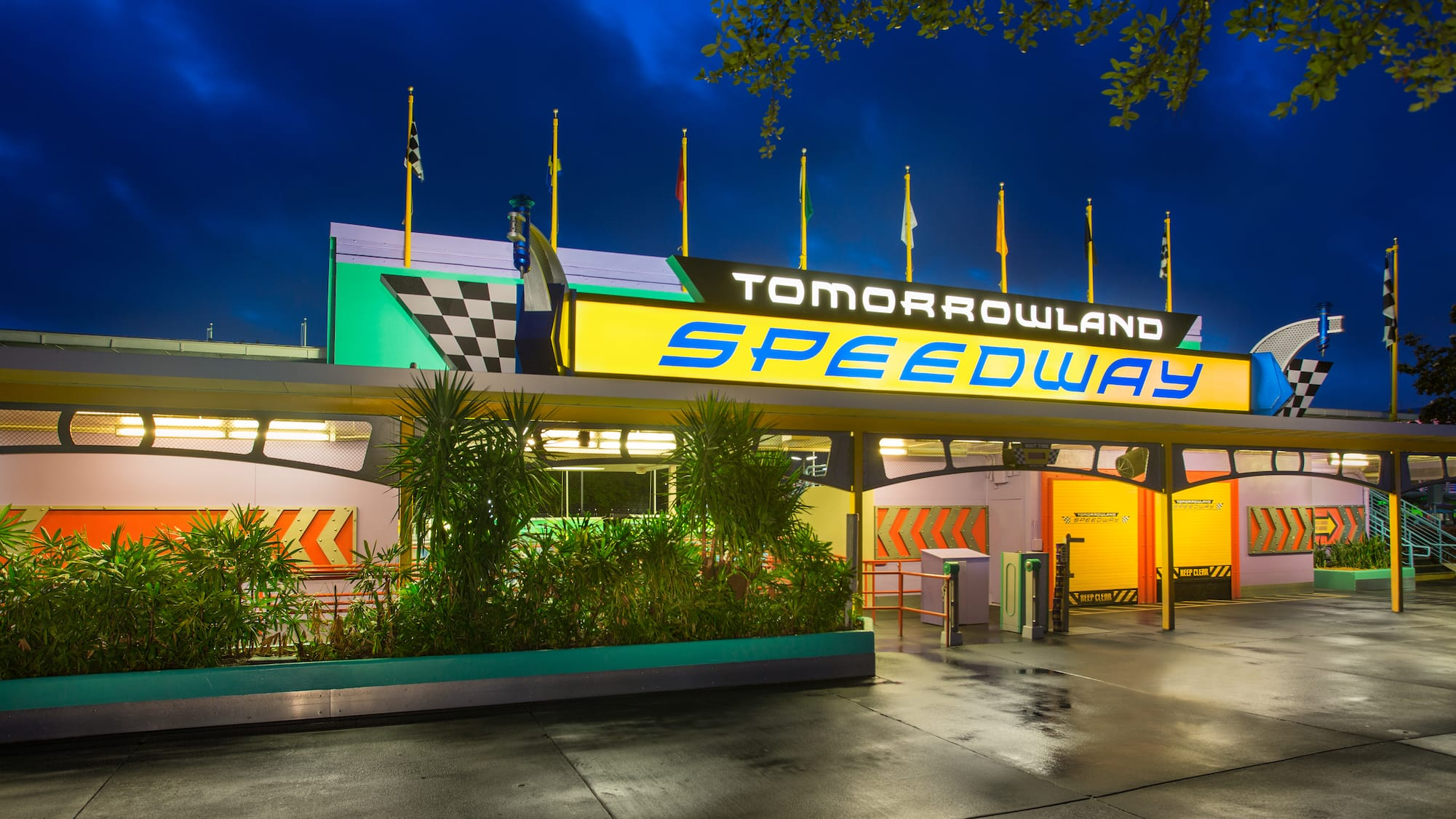 Tomorrowland Speedway | Magic Kingdom Attractions