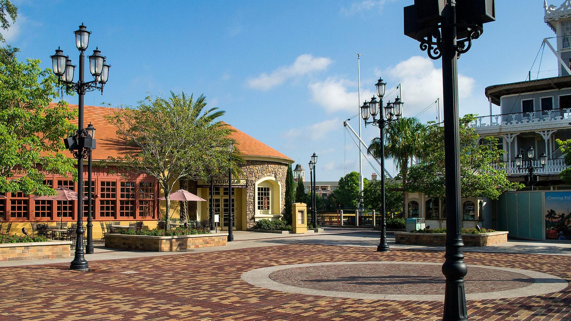 Riverboat Square Disney Springs