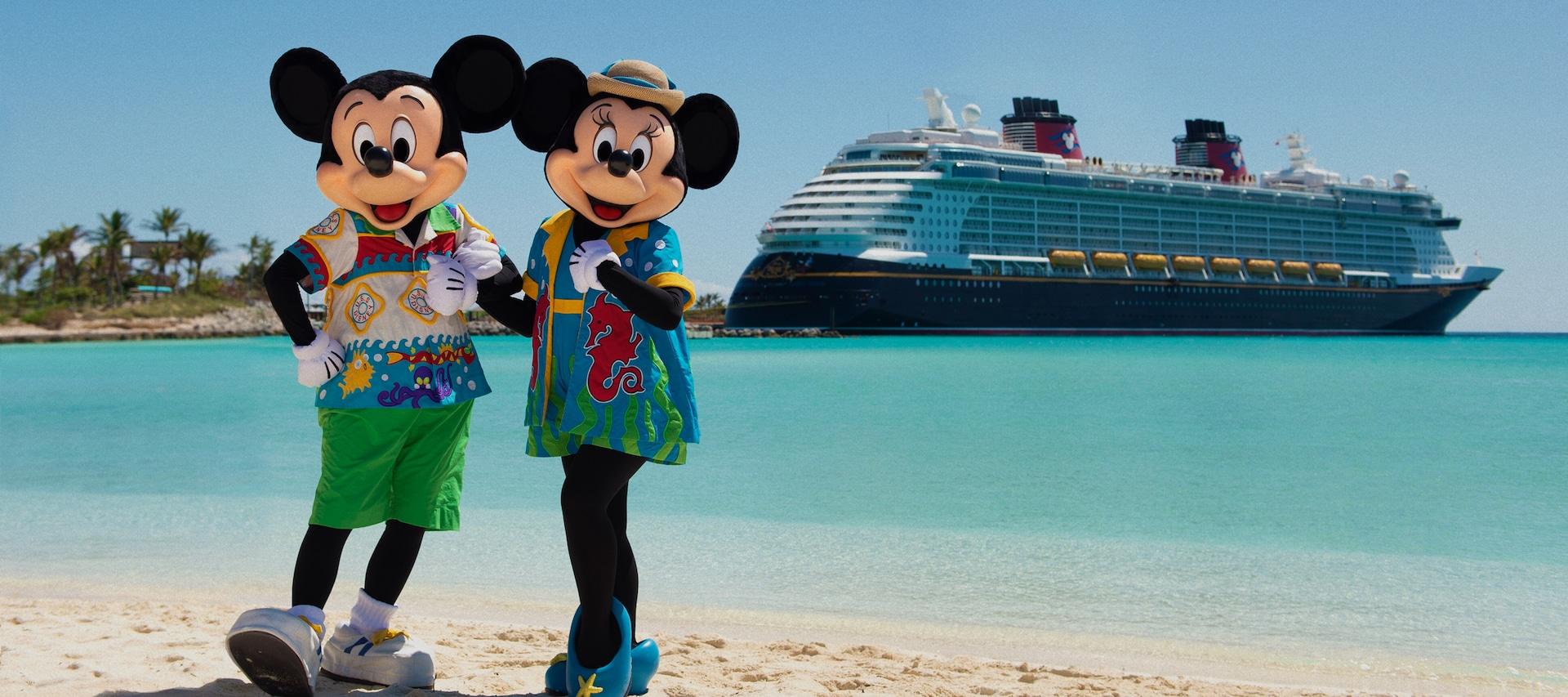 Disney Cruise Line passa exige testes PCR de todos os passageiros