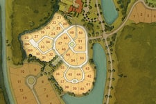Kimball Trace site plan map