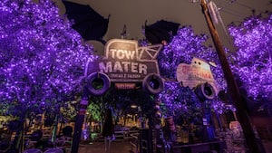 Maters Graveyard Jamboree en Disney California Adventure