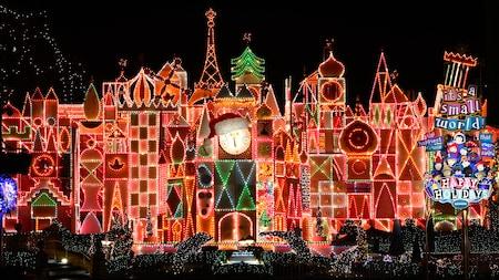 Christmas At Disneyland.Festive Holidays Christmas Celebration Disneyland Resort