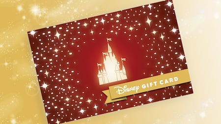 image of a disney gift card