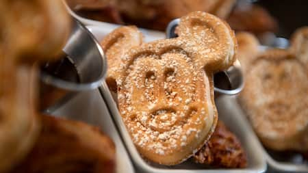 A delicious Mickey waffle