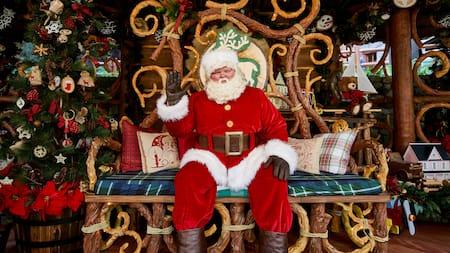 Santa's Holiday Visit at Redwood Creek Challenge Trail