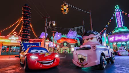 Costumed Characters: Halloween Time at the Disneyland Resort