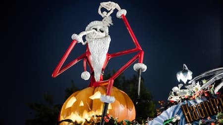 Jack Skellington at the Haunted Mansion Holiday