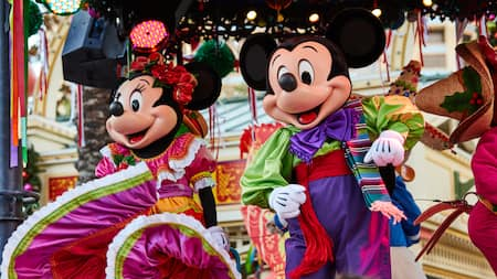 Disney ¡Viva Navidad! en Disney California Adventure Park