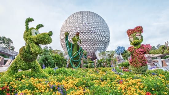 Spring at Walt Disney World Resort