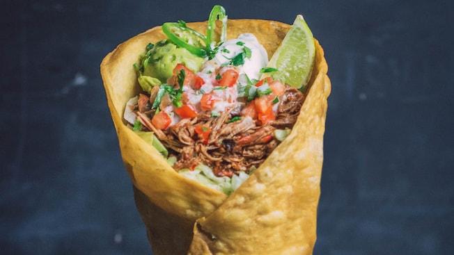 Cornet taco