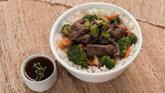 Lucky Fourtune Teriyaki beef bowl